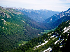 Valley in the Cascade Mountains