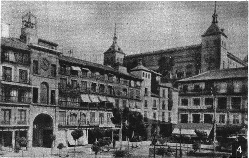 Plaza de Zocodover el 18 de Julio de 1936