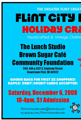 FCH Holiday Craft Market 2008 Flyer 3 Locations!