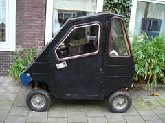 Carro para pessoas com dificuldade de locomoção na Holanda