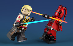 minifigs (ErnestoCarrillo70) Tags: lego render cinema4d starwarslegorendercinema4dstarwars