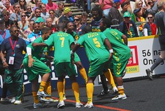 Victory dance (southafricadoc) Tags: southafrica football soccer australia melbourne capetown victoria hiphop worldcup matches musicvideo streetsoccer futball homelessworldcup demetriuswren christinaghubril