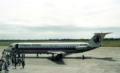 A Philippine Airlines Jet BAC 1-11 at Cebu's M...