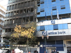 Emporiki Bank (Tilemahos Efthimiadis) Tags: fire rally hellas bank athens greece burnt 100views damage 300views 200views riots destroyed 50views anarchists attica   griots akadimias   ippokratous    emporiki    greekriots      address:city=athens address:country=greece