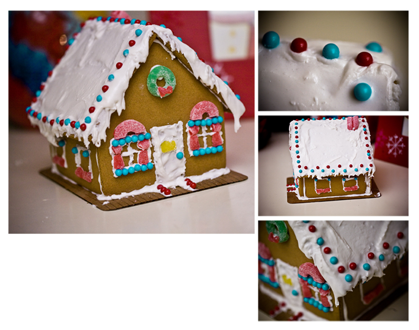 Darbi G PHotography gingerbread home