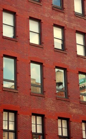 Nueva York en rojos