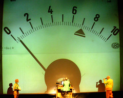 playing for time (DREASAN) Tags: musician blur berlin scale actors theater shadows stage numbers meter volksbhne lackoffocus lof dreasanpics applausemeter dreasanavb