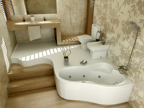 Bathroom design for Roca producer, by InsideLab