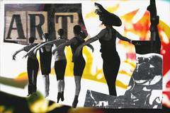 Art - altered (Luis Drayton) Tags: art collage popart montage beermat photomontage doubleyou jasonnovak luisdrayton