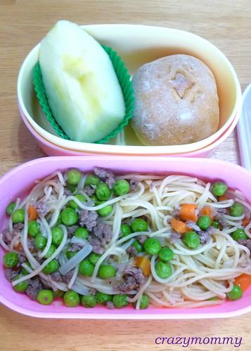 bento #22 : Angel Hair pasta