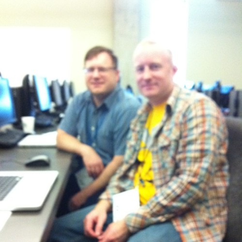 Matt May & Dennis Lembree in Dreamweaver session at #AccessU