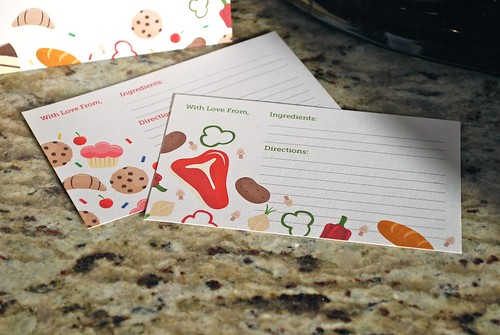 Sweet & Savory Recipe Cards
