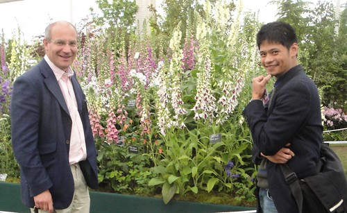 John Grimshaw and Riz with Digitalis