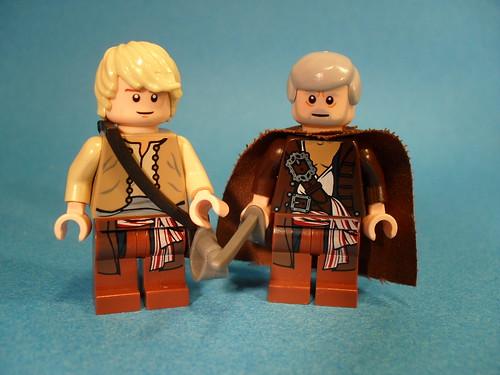 Luke Seawalker + Obi-Wan Greybeard