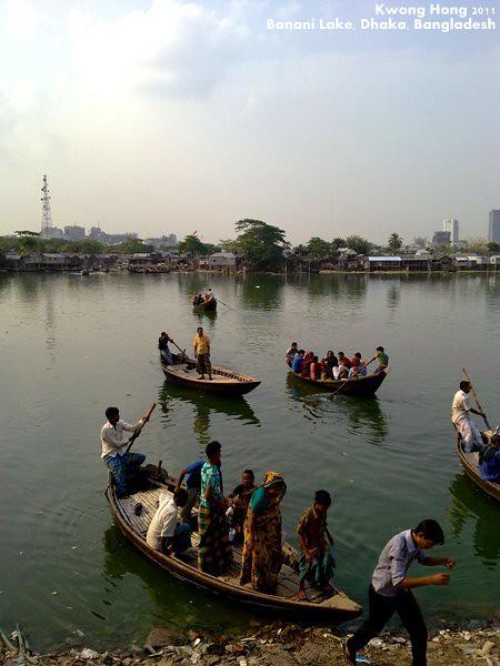 孟加拉Banani Lake