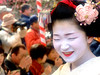 Baikasai (梅花祭) - Naokazu (ericlty) Tags: japan kyoto maiko geiko 京都 teaceremony 北野天満宮 ocha baikasai kitanotenmangushrine 舞妓 kamishichiken まいこ 上七軒 plumblossomfestival 梅花祭 naokazu 野点 のだて