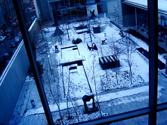 Sculpture garden at MOMA (Ann Althouse) Tags: moma scupture