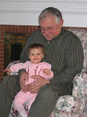 Hailey and Opa