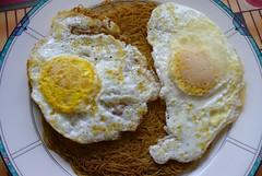 P1030209.JPG (PlaysWithFood) Tags: breakfast leftovers eggs chinesenoodles