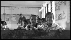 Girls at school - Apia Philippines (earlb.com) Tags: poverty children philippines mission antipolo jager apia