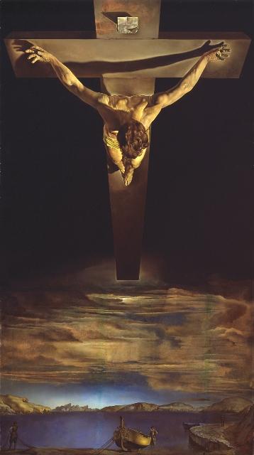 Cristo de San Juan de la Cruz de Salvador Dalí