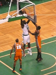 Perkins takes to the hoop