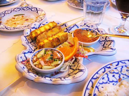 Tofu Satay at Amarin