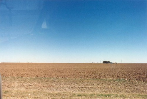 Texas flatness in the Panhandle