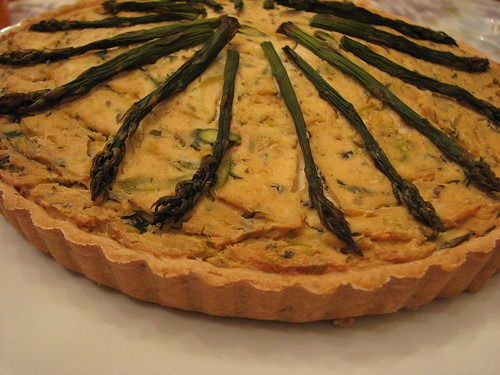 Asparagus and Leek Quiche