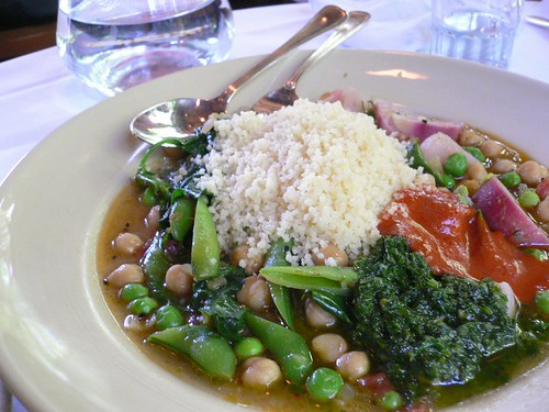 Chez Panisse - Spring Vegetable couscous
