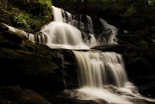 Old Wilton Reservoir Water Falls 1