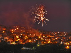 From Fire to Fireworks!!! (Fadi Asmar ^AKA^ Piax) Tags: lebanon fireworks president beirut celebrate may25 mountlebanon