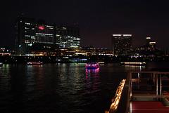 from Boat Deck (HAMACHI!) Tags: light party food night tokyo bay boat pentax may illumination houseboat sigma grill odaiba 24mm 2008 tokyobay pleasureboat yakatabune k10d