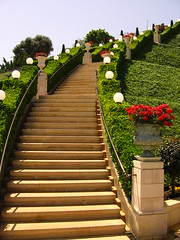 Stairway to Heaven (RonAlmog) Tags: world gardens garden israel g centre creativecommons carmel bahai haifa   bah naturelovers   5photosaday ronalmog   mywinners     ronalmogbook