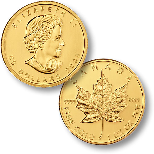 Canadian Gold Maple Leaf 9999