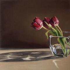 Tulips in Morning Sun (nance danforth painting studio) Tags: flowers flower art painting artist tulips paintings danforth tulip oilpainting nance nancedanforth
