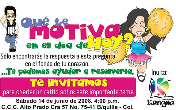 Invitación A Una Charla Juvenil Soykerigma Com