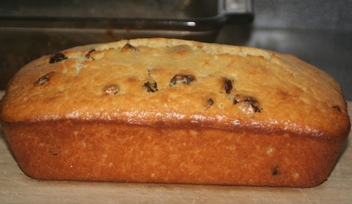 Cranberry Orange Bread/Cake: loaf