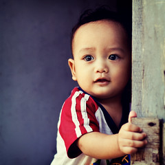 Baby Next Door (wazari) Tags: portrait anakkumy sonwazarihaiqal