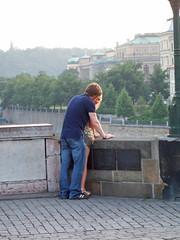 Young lust in Prague (Genieus) Tags: sex prague charlesbridge karlůvmost sexygirl outdoorsex sexinpublic