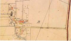 Kaart van K.E> Machen uit 1824