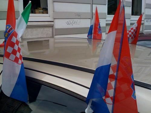 kroatien autoflagge italien gebet