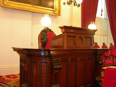 Speaker of the House Podium