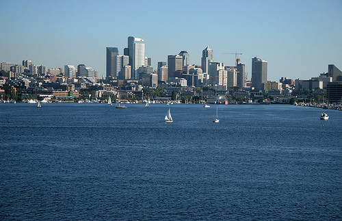 Lake Union and Seattle Skyline