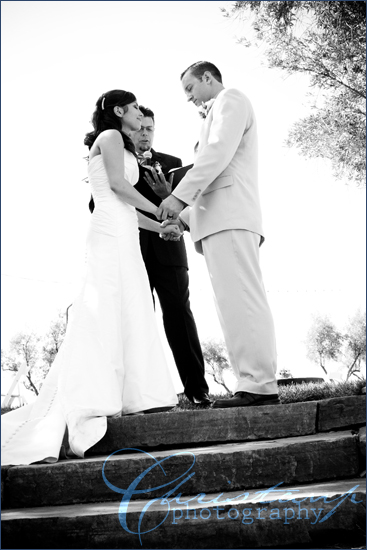 ChristanP Photography - Luders Wedding saying vows