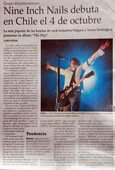 Nine Inch Nails @ Chile (Santiago Arena), October 4, 2008. (Eg0n) Tags: chile santiago inch nin nine nails nineinchnails santiagoarena ninx67g3qm3ng