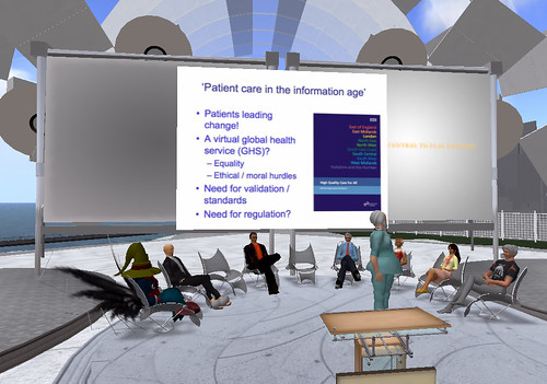 The Future of Healthcare in Virtual Worlds