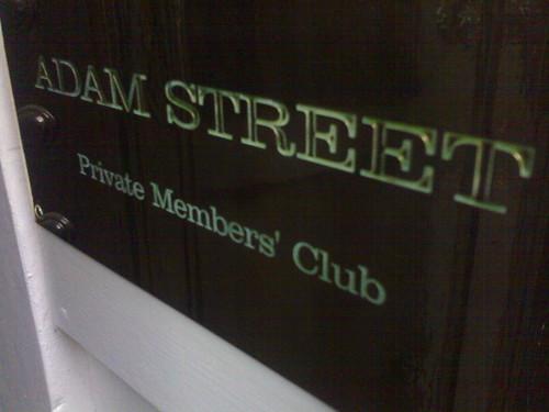 Adam Street Private Members' Club