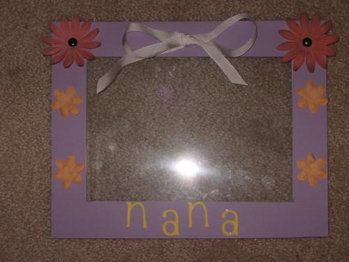 nana's birthday present