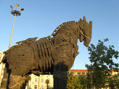 Travelogue of An Armchair Traveller: The Trojan Horse of Troy is ...